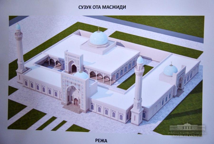 """President Shavkat Mirziyoyev visited """"Suzuk-ota"""" mausoleum"""