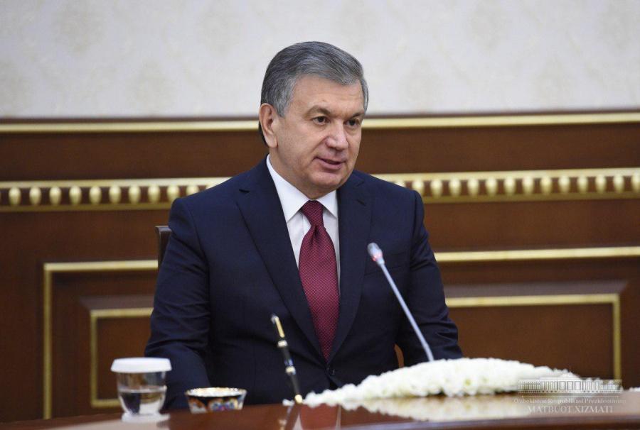President of Uzbekistan receives World Bank Vice President