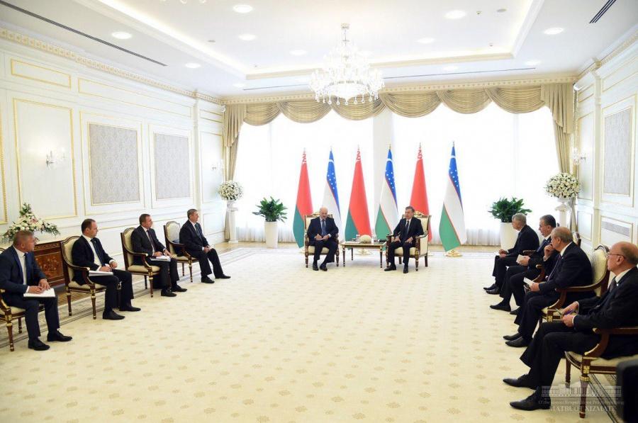 Alexander Lukashenko invited Shavkat Mirziyoyev to Belarus