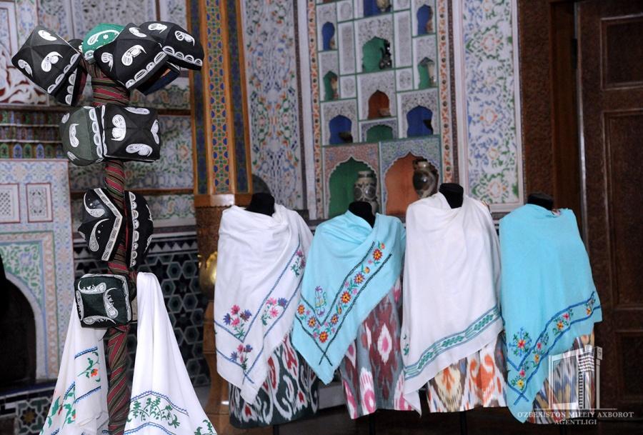 Uzbek skullcaps are an integral part of the national culture