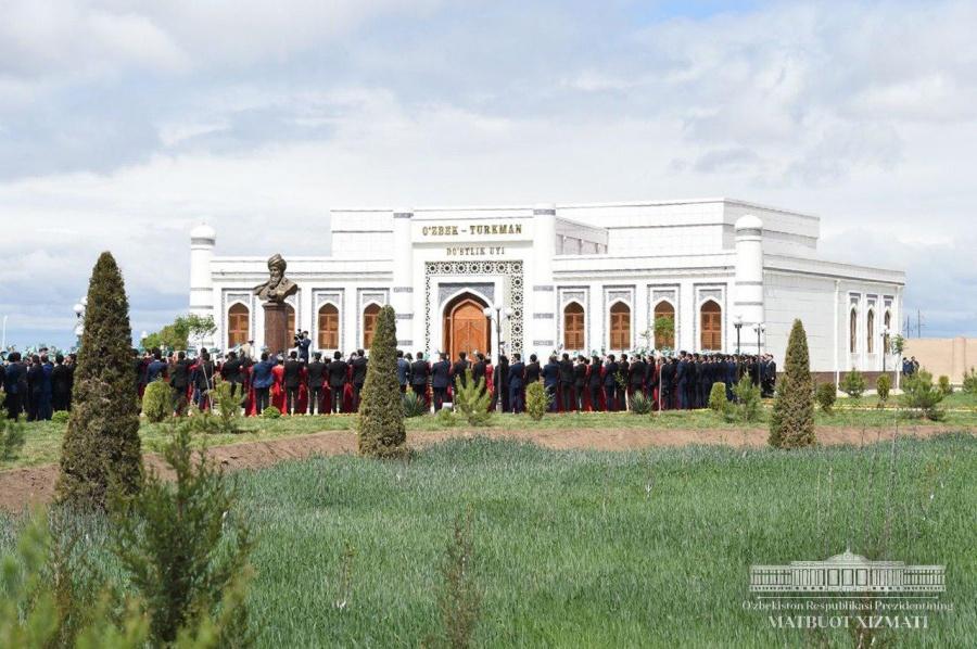 Uzbek-Turkmen Friendship House opens in Khorezm