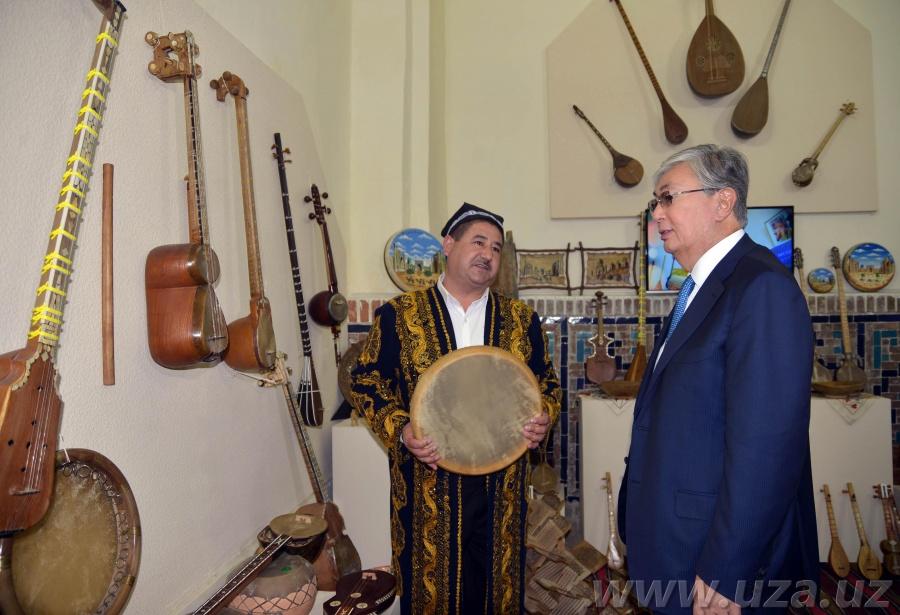 Делегация парламента Казахстана в Самарканде